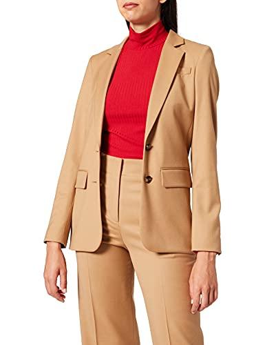 HUGO Akrida Blazer Casual, Light/Pastel Brown239, 48 para Mujer