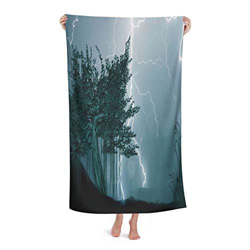 Toalla de baño fina a rayas de moda, súper suave y súper absorbente, pequeña toalla de baño, decoración de baño