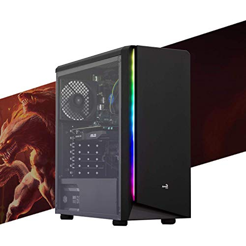 MAK ENTRY LEVEL - PC Desktop Intel i3 10100 4.30GHZ,SSD NVMe 250 GB + HDD 2TB,SCHEDA VIDEO GTX 1050 Ti 4Gb,RAM 8GB 2666MHZ, WIFI + BLUETOOTH INTEGRATO, COMPUTER DA GAMING,WINDOWS 10 PRO