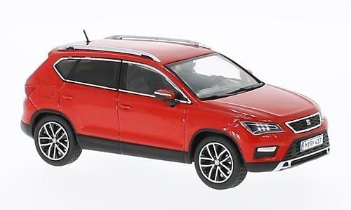 Seat Ateca, rot, 2016, Modellauto, Fertigmodell, Premium X 1:43