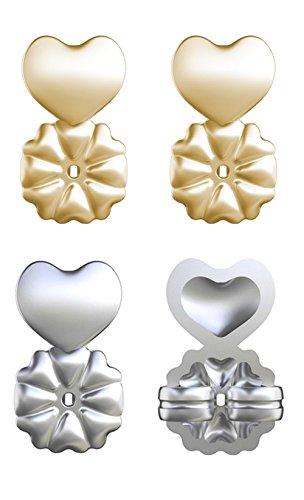 Zooarts Magic Ohrring Rücken Hypoallergen Passt alle Post Ohrringe machen Ohrring Balance von vorne nach hinten