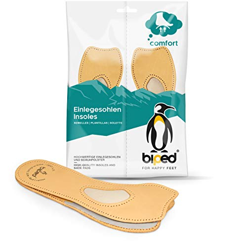 biped 4/5 Komfortstütze aus Leder orthopädische Einlagen für Pumps, Ballerinas und Sandaletten z2226(39)