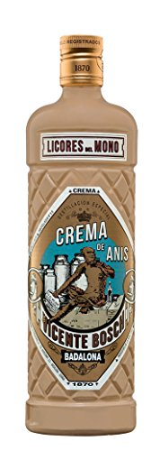 licor crema Anís del Mono - 1 botella de 70 cl
