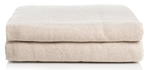 Simpli-Magic 79109 Canvas Drop Cloth 2 Pack (Size 9' x 12') for All Purpose Use, Ideal for Floor Protection, Curtains, DIY Projects and Furniture