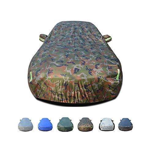 KLEDDP Regenschutz, Winddicht, staubdicht, UV-beständig, Nicht brennbar, Oxford-Stoffbezug, geeignet für den Einsatz in CCX Koenigsegg Autoabdeckung (Color : E)