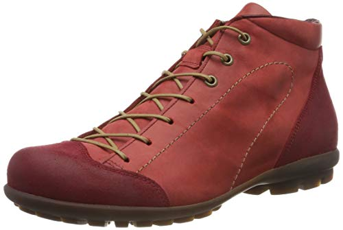 Think! Herren Kong_585664 Desert Boots, Rot (Rosso/Kombi 72), 42.5 EU