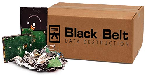 Gold Series Data Destruction Kit, Guaranteed and Certified Hard Drive Shredding with Video Playback