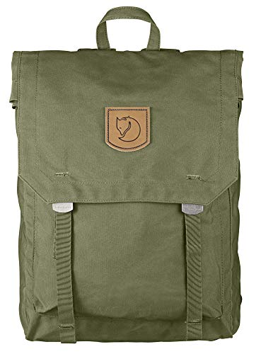FJÄLLRÄVEN Unisex's Foldsack No. 1 Backpack, Green, 40 x 30 x 15 cm, 16 L