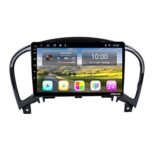 ADMLZQQ Android 8.1 9 Pollici Autoradio Navigazione GPS per Nissan Juke 2004-2016, FM/RDS/Bluetooth/WiFi/Videocamera Vista Posteriore/Comandi al Volante,8core,4G+WiFi: 2+32G