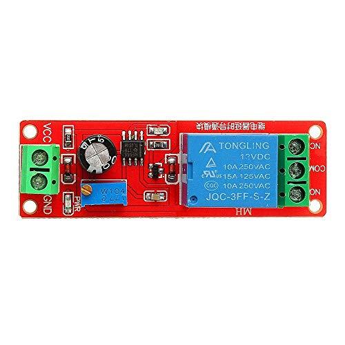 YIONGA CAIJINJIN Module Relay Module, Switch Time Switch 12V 20pcs NE555 Chip Time Delay Relay Module Single Steady