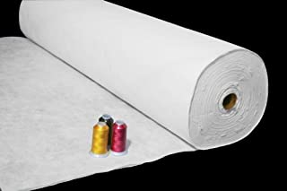 New ThreadNanny Roll of Lite Tear Away Backing for Machine Embroidery/Quilting Machines - 10 in x 100 Yards