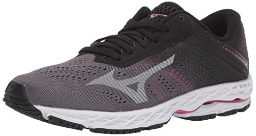 Mizuno womens Wave Shadow 3 Running Shoe, Excalibur-vapor Blue, 8.5 US