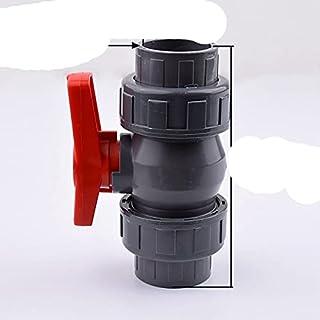 FSALFWUYIHDSF 1 raccord de tuyau en PVC 20/25/32/40/50 mm pour tuyau d'eau, robinet à boisseau sphérique, connecteur d'aqu...