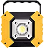 JFFFFWI Luz de Trabajo LED portátil de 10 vatios, Luces de...