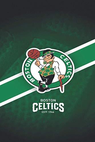 Boston Celtics: Boston Celtics Notebook & Magazine - NBA Fan Essentials - Boston Celtics Fan Appreciation - 110 pages | Taille: 6 * 9