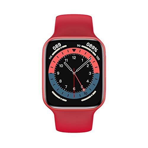 ZYDZ Smart Watch Hombre Calculadora Impermeable Monitor de Ritmo cardíaco Nuevo DIY Face Ladies Bluetooth Call Sleep Monitoring HW22 Smart Watch para Androis iOS,A
