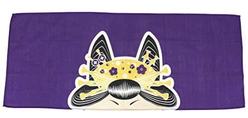 Japan Serviette de toilette japonaise style oiran en coton style bandana 87 x 35 cm