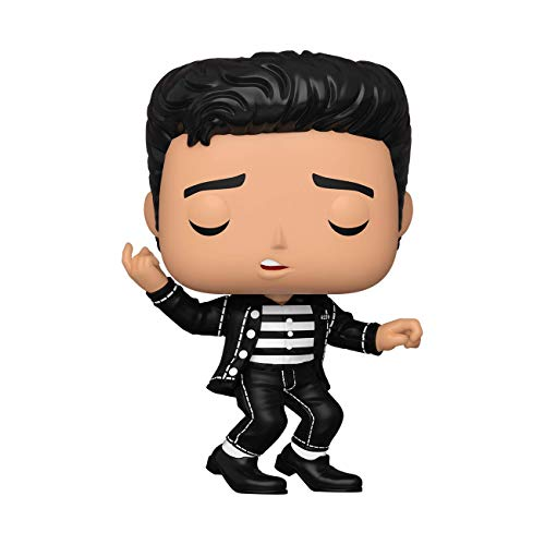 Funko- Pop Rocks Elvis-Jailhouse Rock Figura coleccionable, Multicolor (40138)