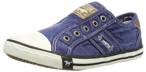 Mustang Damen 1099-401 Slip On Sneaker, Blau (841 Jeansblau), 38 EU