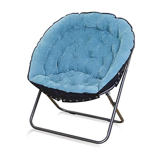Silla Folding Chairs Perezosa Creativa Plegable Ocio Silla De Radar para Sala De Estar Dormitorio Estudiantil Pesca Camping Piscina Parque Balcón