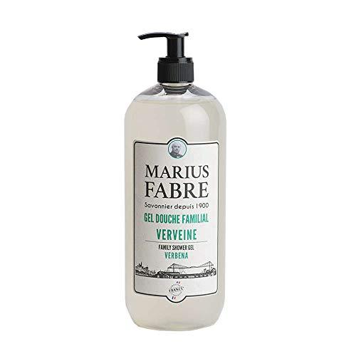 Marius Fabre Duschgel 1900 Verveine 1000 ml Für die tägliche Haarwäsche mit Eisenkraut Duft