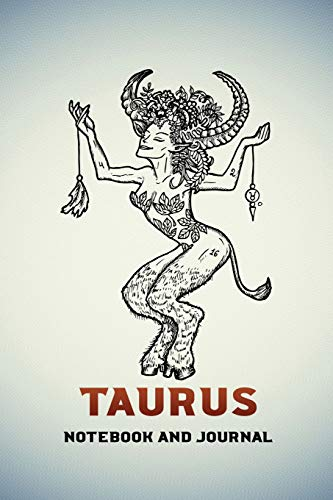 Taurus Notebook and Journal: Fantasy Style Zodiac Star Sign Horoscope Journal, Diary, Notebook or Log, Birthday Christmas Gift for Men, Women and Kids | 118 pages | 6x9 Easy Carry Compact Size