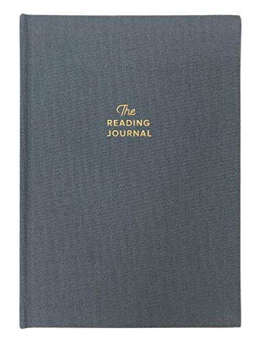 Reading Journal. Book Journal for Book Lovers & Readers. Review and Track Your Reading (Gray)