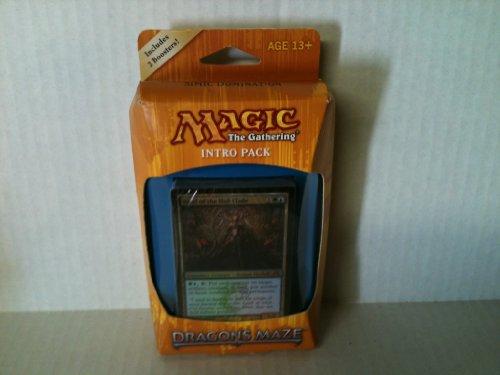 Magic the Gathering (MTG) Dragon's Maze Intro Pack: Simic Domination