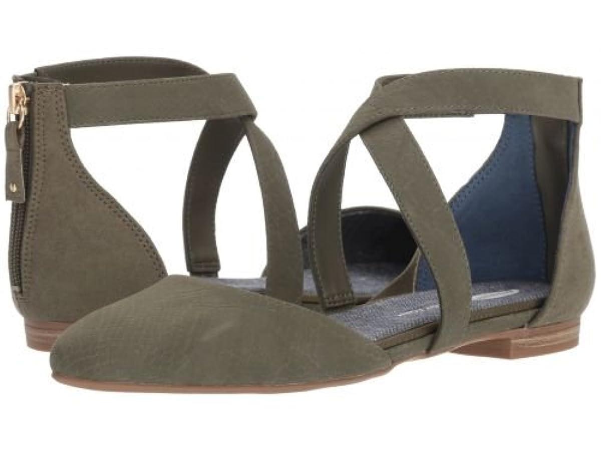 彼女は障害者囲いDr. Scholl's(ドクターショール) レディース 女性用 シューズ 靴 フラット Adjust - Willow Snake Print [並行輸入品]