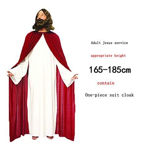 Pasen Kostuum Halloween Thanksgiving Pasen Jaarlijkse Vergadering Volwassen Kind God Jezus Christus Maagd Maria Prestatie Kostuum