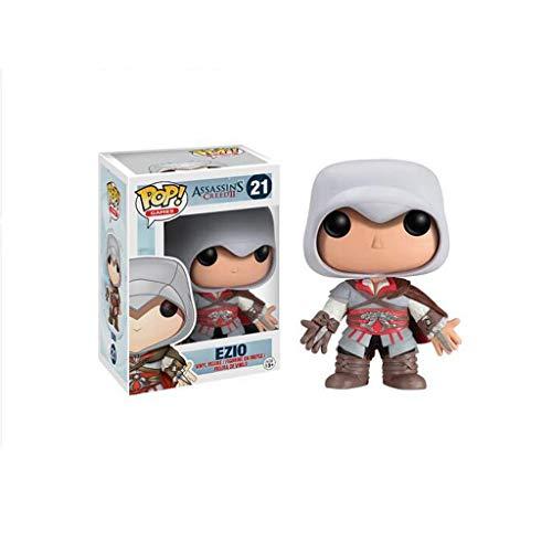 Lxyy YF Ezio Auditore Pop Figura Assassins Creed: La Hermandad Vinyl Figura Nada es tura, Todo está Permitido