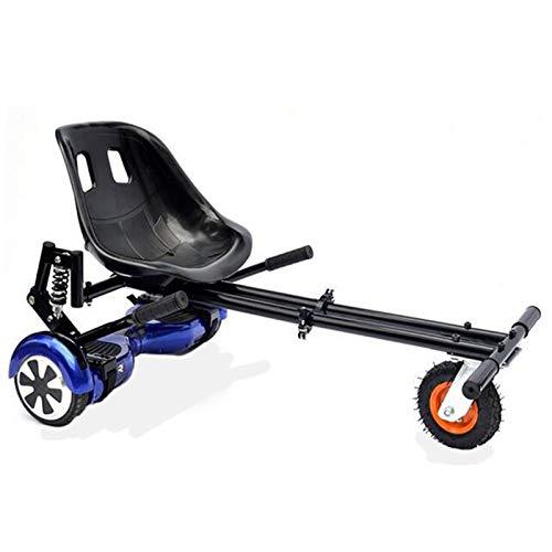 Hoverboards, asiento de corredor negro, accesorio de kart de flores para el scooter eléctrico inteligente Ajuste 6.5 8 10 pulgadas, equipo de protección libre y casc