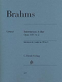 Brahms: Intermezzo in A Major, Op. 118, No. 2