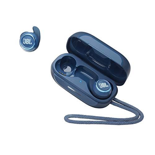 JBL Reflect Mini NC TWS Cuffie In-Ear True Wireless, Auricolari Bluetooth Senza Fili Waterproof IPX7 con Cancellazione Attiva del Rumore, fino a 21h di Autonomia, Blu