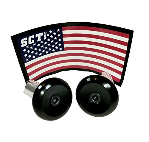 SCT USA Scooter and Bike Aluminum Bar Ends