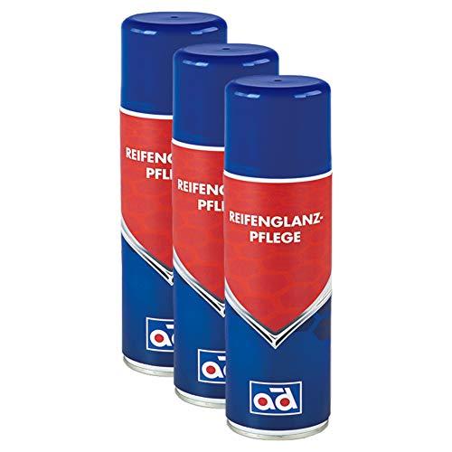 AD Chemie 3X Reifenglanz Ct 44 400ml Spraydose Reifenpflege Reifen Reifenreiniger Reiniger Glanz Gummi Gummipflege Autopflege 402392380