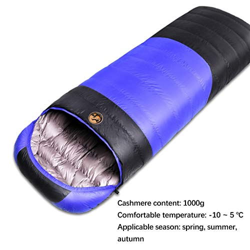 Xiao Jian Ultralichte slaapzak voor backpacking comfort voor volwassenen warm weer voor outdoor backpacking wandelen
