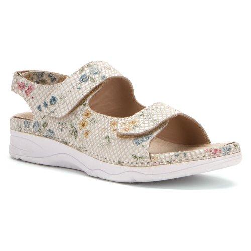Drew Shoe Women's Dora Sandals,Multicoloured,6.5 M
