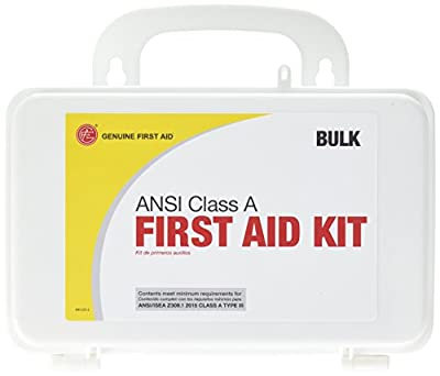 Genuine First Aid Class A ANSI Bulk First Aid Kit, Plastic from Adventure Medical Kits