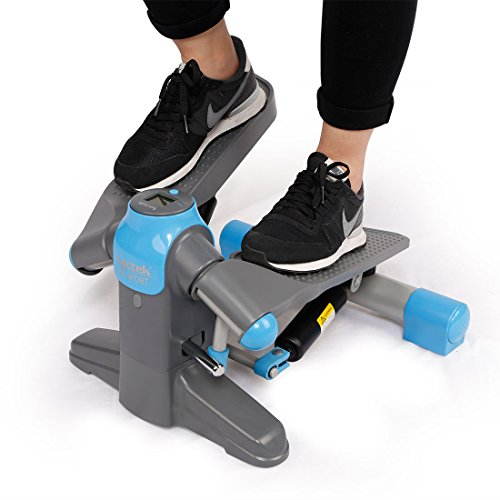 Loctek FP1 Exercise Stepper Mini Step Swivel Elliptical Trainer