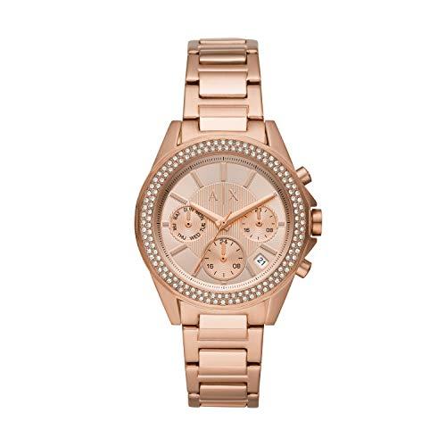 Armani Exchange zegarek damski Bransoletka Womens Standard Złoty