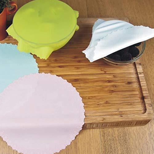 1Pc Silicone Bowl deksel Koelkast Bewaarmiddel Herbruikbare rekbaar Voedsel Container Seal Film Cover Kitchen bakmat Tool