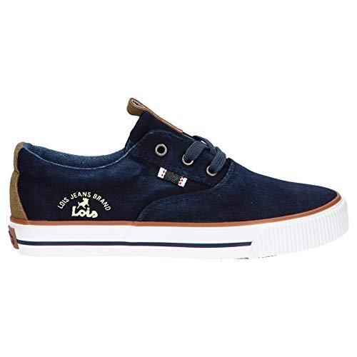 LOIS JEANS Sneaker für Damen und Mädchen und Junge 60121 252 Jeans Schuhgröße 34 EU