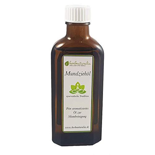 herbnaturalia ® Mundziehöl - Die ayurvedische Ölzieh Kur - 100ml...