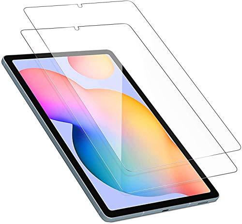 Benazcap (2 Stück) Schutzfolie für Samsung Galaxy Tab S6 Lite, 9H Festigkeit, 2.5D Bildschirmschutzfolie Panzerglas (Gehärtetem Glas) Schutzglas Für Samsung Galaxy Tab S6 Lite 10.4 Zoll 2020 (P610/P615)