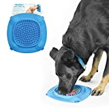 Aquapaw Slow Treater XL Treat Dispensing Mat Suctions to Wall for Pet Bathing, Grooming, and Dog Training