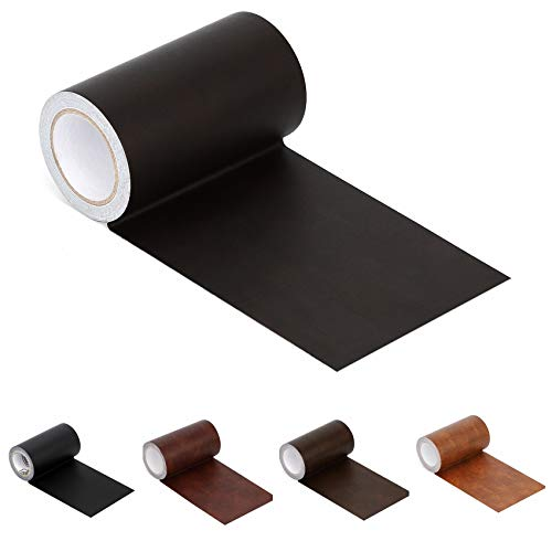 """Leather Repair Tape Patch Leather Adhesive for Sofas, Car Seats, Handbags, Jackets,First Aid Patch 2.4""""X15"""