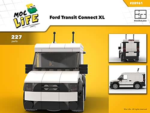 Ford Transit Connect XL (Instruction Only): Moc Life (English Edition)