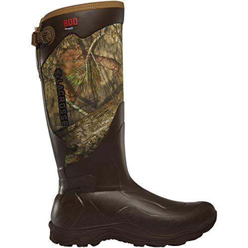 LaCrosse Men's Alpha Agility 17' 800G Hunting Boot, Mossy Oak Break-Up Country - 8 D