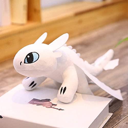 Muñecos de peluche Cómo entrenar a tu dragón 3 sin dientes Figura de anime Furia nocturna Furia ligera Juguetes Dragón Muñeca de peluche Juguetes para niños